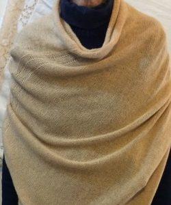DC KNITS Chameleon Wrap camel