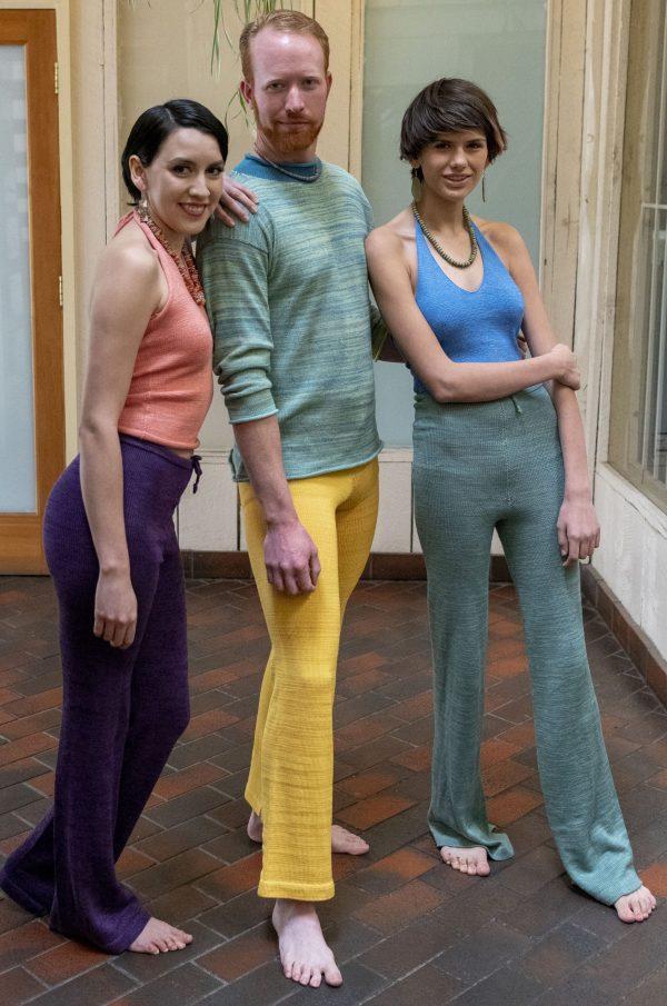 Photo of people wearing Bamboo slacks