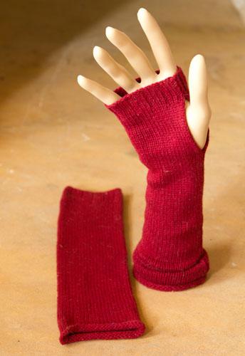 Photo of Fingerless Cashmere Gloves