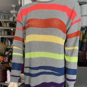 Sweater cashmere chinchilla custom